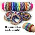 5 pçs/lote grande promoção! Moda Shamballa pulseiras para mulheres Handmade Rhinestone Shamballa pulseiras pode escolher as cores