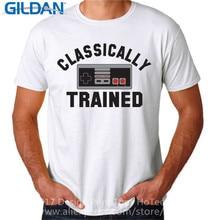 цена на T Shirt Shop  Short Sleeve Men   Ally Trained  O-Neck Tall T Shirt