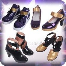 0542816ad74 Anime Costumes 2019 LOL KDA Shoe Idol singer new skin Evelynn Kaisa Akali  Nine-Tailed Fox Ahri Shoe cosplay high heels