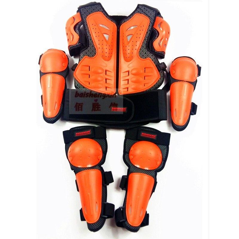 SX081 moto course soin armure enfants armure costume enfant protection costume sport genou soin coude rapide navire