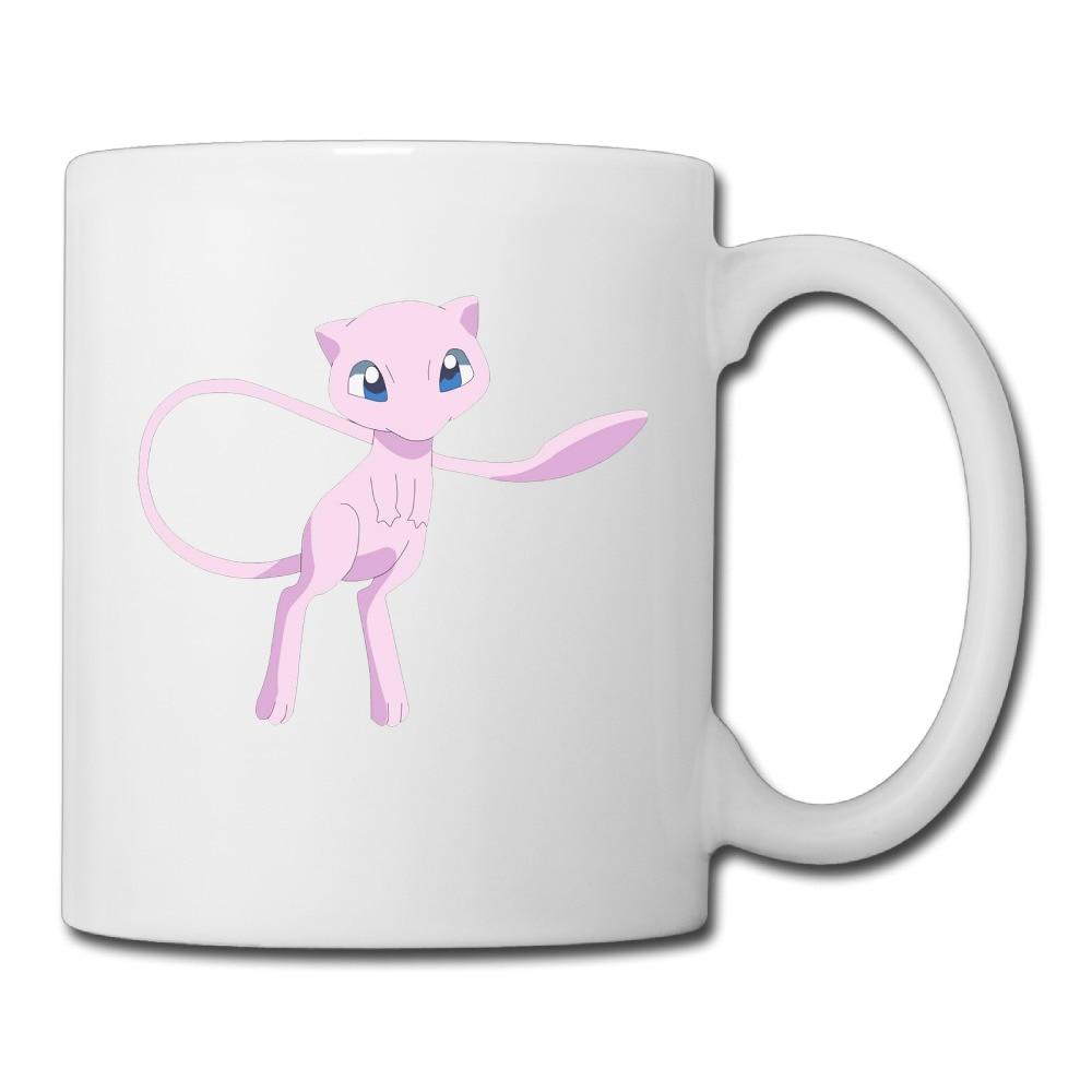 Pokemon Mew Customized Design coffee mug discount grandpa tazas ceramic tumbler caneca tea Cups