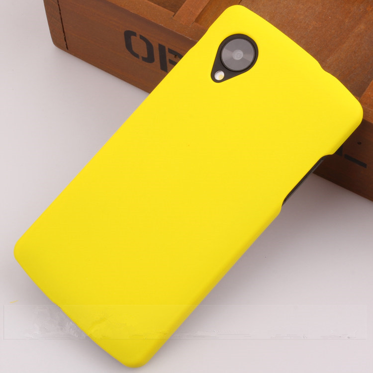 reputable site 4cabb 6d1b2 For Google Lg Nexus 5 Case On Nexus5 Cover Luxury Colorful Matte Cute Hard  Cases For E980 D820 D821 Protective Back Cover