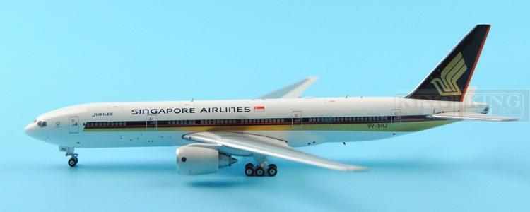 Phoenix 11124 Singapore Airlines 9V-SRJ JUBILEE B777-200ER commercial jetliners plane model hobby phoenix 10596 a330 200 b 6538 chinese eastern airlines skyteam no 1 400 commercial jetliners plane model hobby