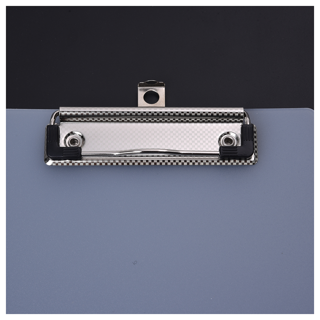 PPYY NEW -Clipboard Plate Door Translucent Block Clip For Paper A5 Office