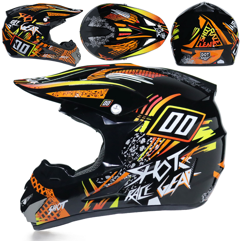 Super Light Motorcycle Racing ATV Helmet 1