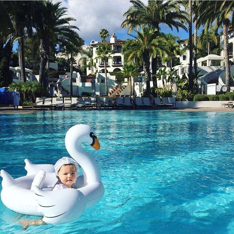 Детские надувные игрушки открытый Белый лебедь сидя круг Фламинго дети Одежда заплыва круг ребенок спасательный круг няни круг