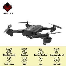 Impulls Drone X192 SG900 SG900-S Foldable Drones with Camera Hd Quadcopter Rc Helicopter Remote Control Camera Dron Gps FSWB hubsan x4 plus h107c 2 4ghz remote control quadcopter ufo drones with 720p hd camera rc drone dron with light flying helicopter