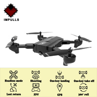 Impulls Drone X192 SG900 SG900 S Foldable Drones with Camera Hd Quadcopter Rc Helicopter Remote Control Camera Dron Gps FSWB
