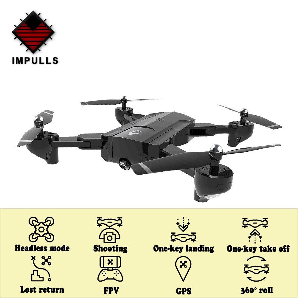 Impulls Drone X192 SG900 SG900-S Pliable Drones avec Caméra Hd Quadcopter Rc Hélicoptère Télécommande Caméra Dron Gps FSWB