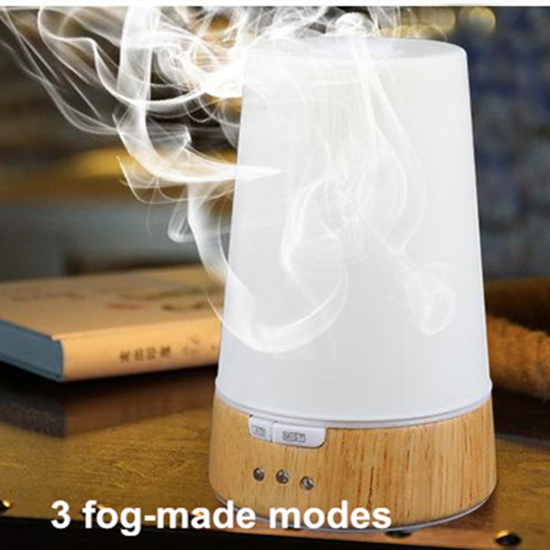 Essential Oil Air Humidifier Color LED Night Light Lamp Ultrasonic Humidication Cleaner water fog Maker Aromatherapy Diffuser hot sale humidifier aromatherapy essential oil 100 240v 100ml water capacity 20 30 square meters ultrasonic 12w 13 13 9 5cm