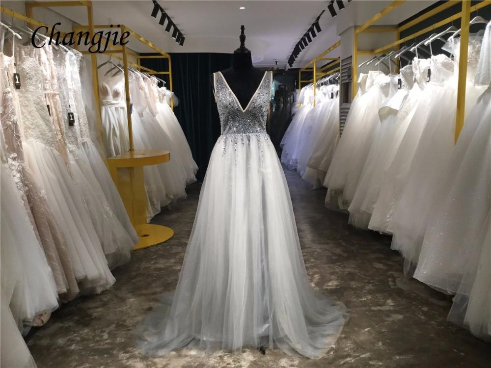 कस्टम मेड ए-लाइन क्रिस्टल - विशेष अवसरों के लिए ड्रेस