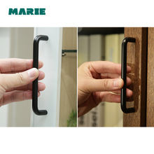 64 -320mm Stainless Steel Furniture Handle Cabinet Pull and Black Silver Kitchen Door Cupboard Wardrobe Drawer