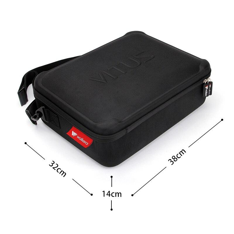 Original Storage Bag Handbag for Walkera VITUS 320 RC Drone Spare Parts Protective Case Vitus 320-Z-43 original walkera devo f12e fpv 12ch rc transimitter 5 8g 32ch telemetry with lcd screen for walkera tali h500 muticopter drone