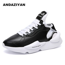 New fashion casual shoes ninja warrior y3 men's shoes Europe