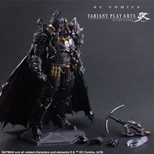 Free Shipping New Marvel Hot Movie PLAY ARTS PA The Batman PVC Action Figure Statue Doll Toy 28cm Model toys Hot Sale