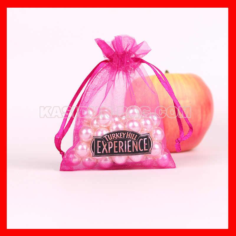 (10000 шт./лот) Доступно 4 размера индивидуальная Подарочная сумка на шнурке с принтом логотипа