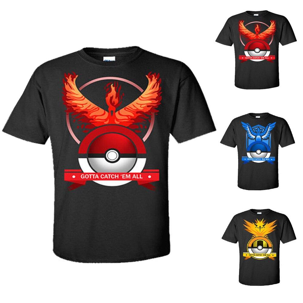 2017 Summer Kids T Shirt Pokemon Go Pikachu T Shirts