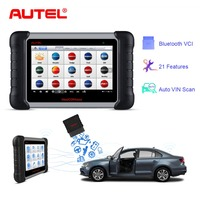 Autel MaxiCOM MK808BT OBD2 Scanner Car Diagnostic Tool Automotive Diagnosis Functions of EPB/IMMO/DPF/SAS/TMPS For Ford Toyota