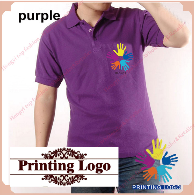 Professional Design High Quality Custom Printing Polo Shirts 100 Cotton Men Women Embroidery 230g Solid Color In From S