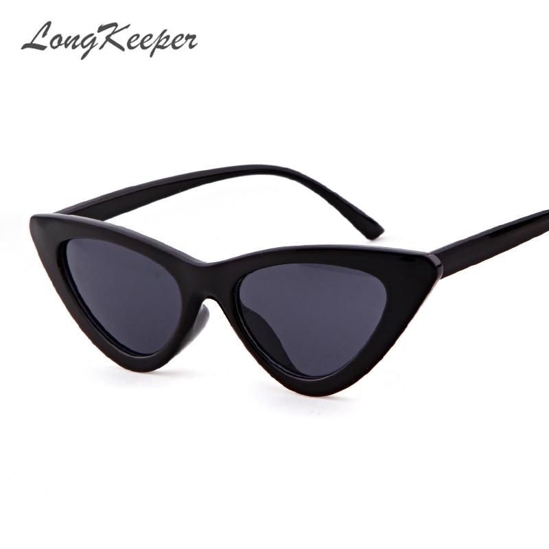 Small Cat Eye Sunglasses Women 2018 New Luxury Brand Red White Frame ...