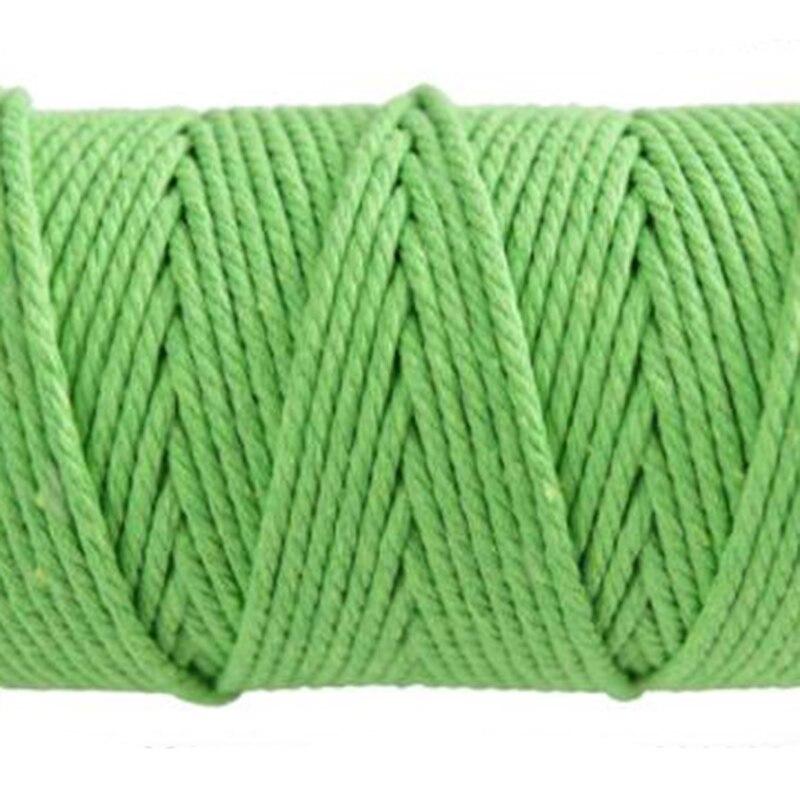 corda corda corda rústico país artesanato cord cor macrame artesão 3mm