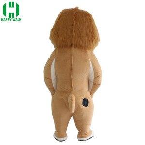 Image 3 - Traje de Mascota de León inflable de nuevo estilo 2,6 m 3m, traje de Mascota de León para publicidad personalizado adecuado para adultos de 1,7 m a 1,95 m