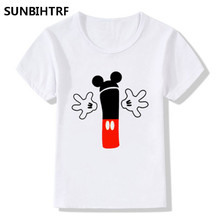 Big Boys and Girls Happy Birthday Number 1-9 Letter Print Cute T shirt Kids Summer White Funny T-shirt Kids Casual Baby Tshirt