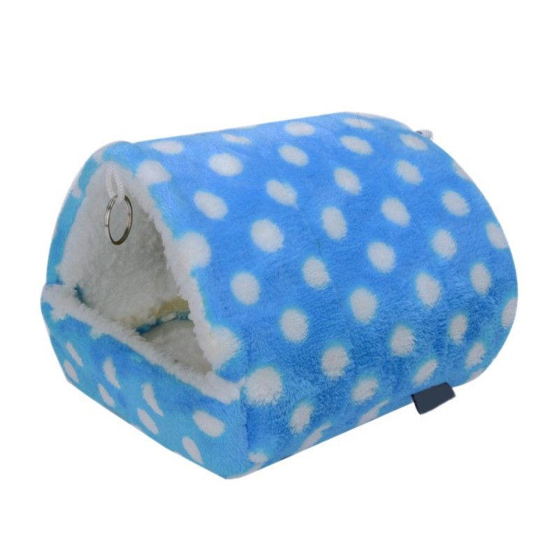 Small Animals Supplies Hamster Cage Cotton Breathable Nest Cage Warm Bed For A Hamster