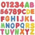 Novas 36 pcs Crianças Banheira de Espuma Letras Números Educacionais Do Bebê cedo Aprender Brinquedo Define Crianças brinquedos para o Banho Brinquedo Do Bebê Chuveiro de Água brinquedo