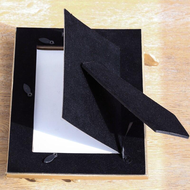 Miz Hause 1 Stück Gold Bilderrahmen Rund Oval Quadratische Form ...