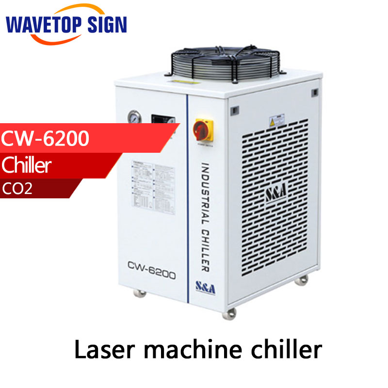 chiller 6200 chiller cw6200 chiller cw-6200AG CW-6200BI CW-6000 Industrial Water chiller CW 6200 use for laser mark machine 490w cooling capacity vertical rotary compressor r134a suitable for beer chiller and mini water chiller