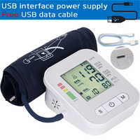 2018New blood pressure monitor Upper Arm blood pressure meter accurate Tonometer Measuring Automatic Sphygmomanometer pulsometer