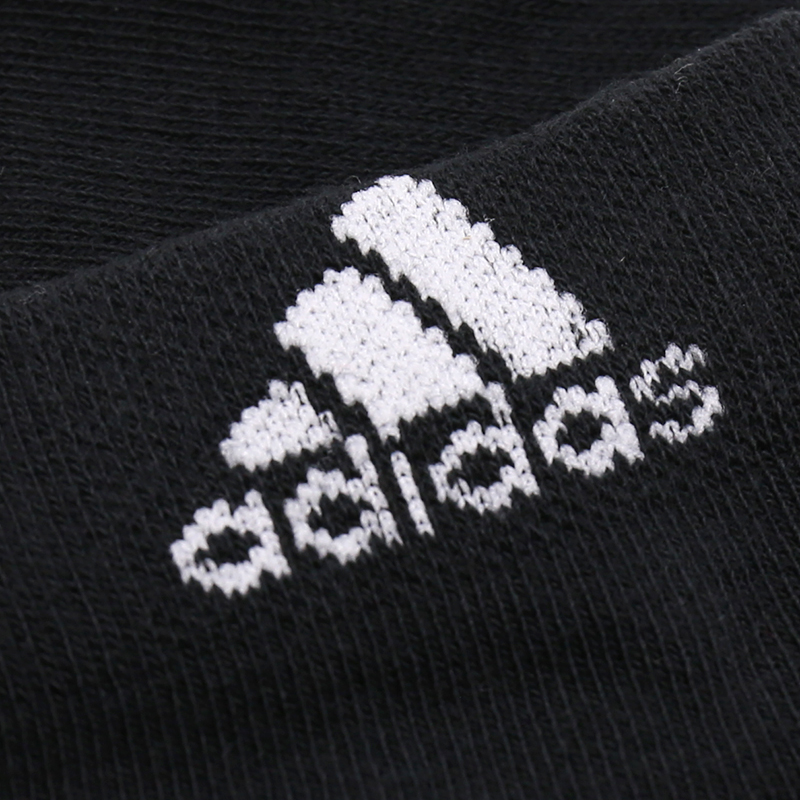 ff8406e49 ADIDAS Original Sports Socks Mens And Womens Cotton Slippers Breathable  Support Sports Knitted Black Socks Unisex Top Quality-in Cycling Socks from  Sports ...