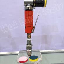 3125 Тип воздух вибрирует Jil Sander Пневматика полировщик 1 дюйм 30 мм шлифования бэк-pad отделка удаления перо Jil Sander(3125