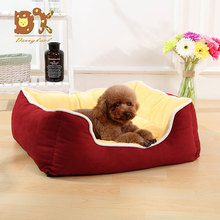 DannyKarl Plus Size Dog Bed Mattress Thickening Warm Pet Bed Mat Sofa Cat Bed for Large Labrador Husky Satsuma Small Teddy 2018 teddy in bed