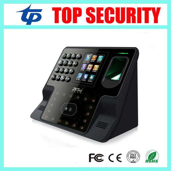 Cheap zk iface face and fingerprint time and attendance terminal tcp/ip free software biometric face recognition time attendance