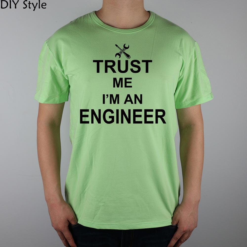 TRUST ME OI AM A INGINEER Camiseta Top Lycra Cotton Men camiseta - Ropa de hombre - foto 5