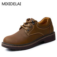 Brand Handmade Breathable Men S Oxford Shoes Top Quality Dress Shoes Men Flats Fashion Genuine Leather
