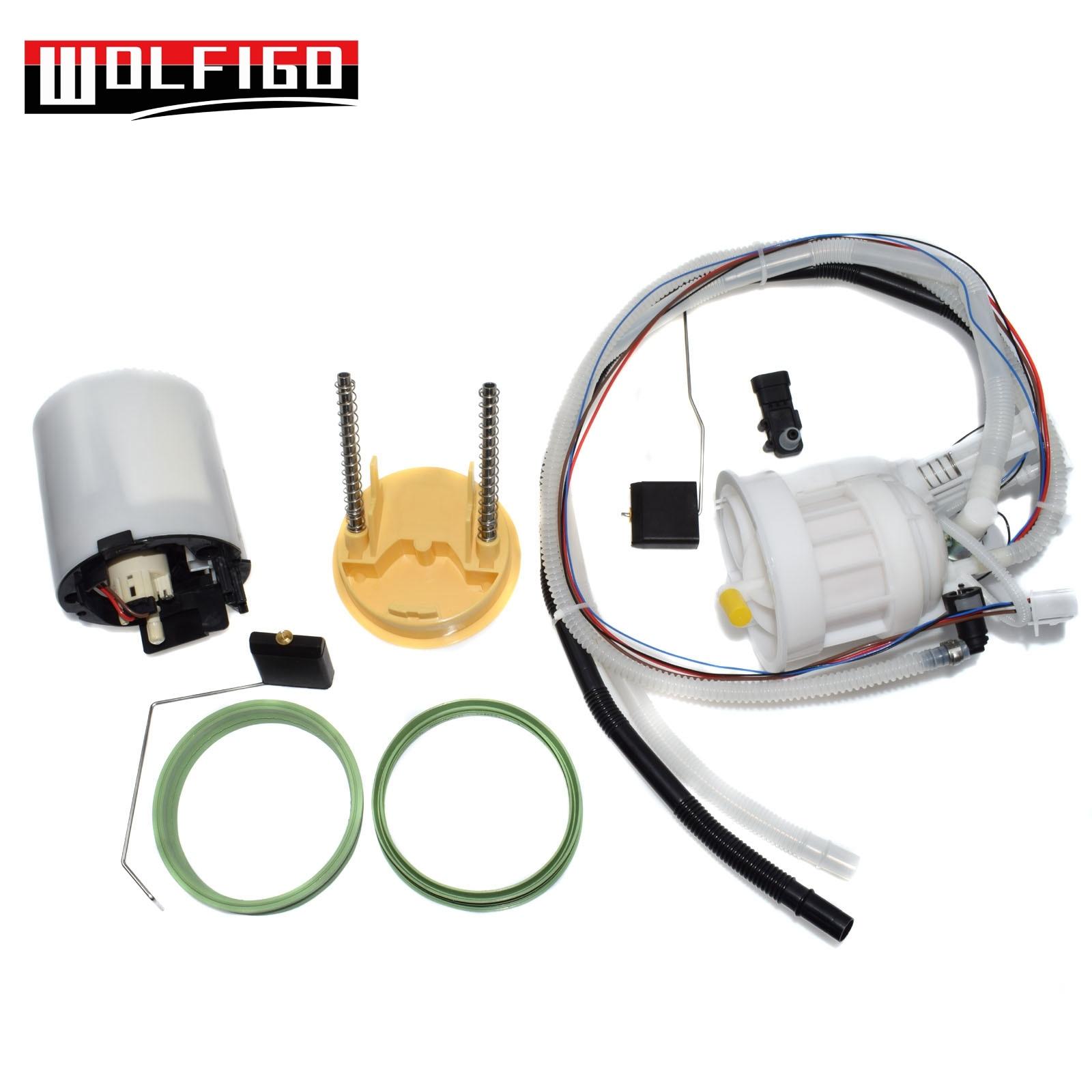 WOLFIGO 1 PC/1 paire gauche droite pompes à essence complètes avec 2 joints pour Mercedes E320 2114704194, 2114704094