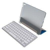 Teclado sem fio Bluetooth + Capa De Couro Inteligente + Stylus pen + Protetor de Tela + Pano de Limpeza para iPad 9.7 Pro toetsenbor
