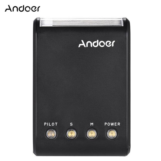 Andoer WS 25 Mini esclavo Digital portátil, Flash Speedlite, con zapata Universal, GN18, para Canon, Nikon, Pentax, Sony
