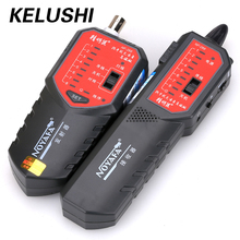 KELUSHI  Wire Tracker NF-268 Anti-jamming Network cable tester tracer errors locator RJ11 BNC RJ45 cable on switcher