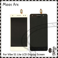 DHL 10pcs Lot High Quality 5 0 For Lenovo Vibe S1 Lite LCD Display Screen With