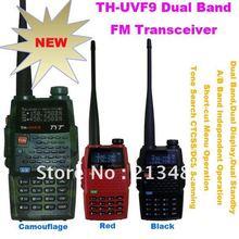 הגעה חדשה tyt th uvf9 dual band vhf / uhf 136   174 mhz & 400   470 mhz 5 w כף יד דו כיוונית רדיו