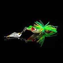 WALK FISH, 1 шт., жесткая рыболовная приманка с пропеллером, большой шум, Isca, лягушка, приманка, 135 мм, 9 г, Pesca, лягушка, Тонущая наживка-Змееголов, рыбалка