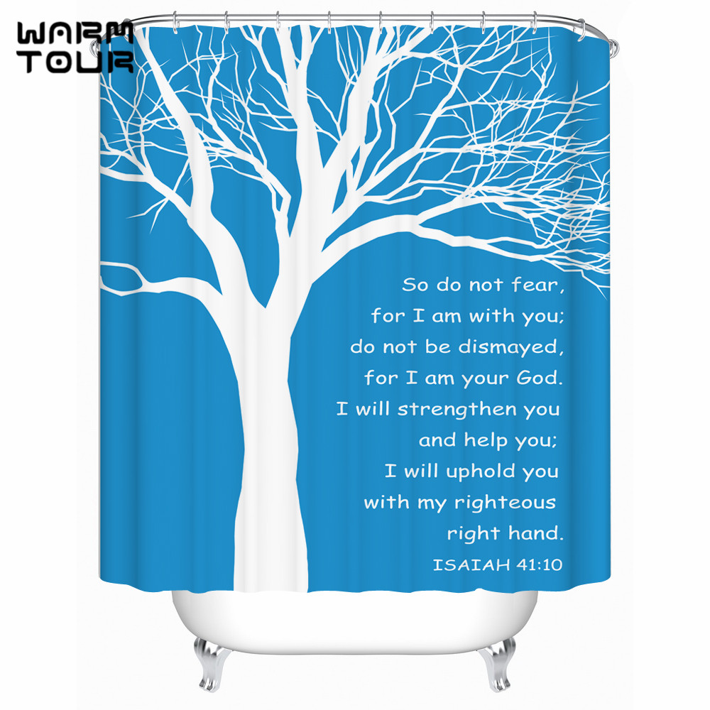Buy shower curtain white and blue and get free shipping on ...