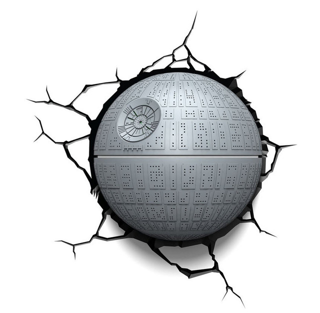3D LIGHT FX DEATH STAR Shiping Libre