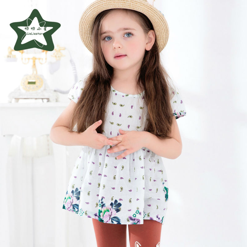 Baby Girl Dress Children Fashion Kids Fancy Clothes Girls Party Clothing Summer Costume 2017 New Style Infant Princess Dresses 2017 summer cute style baby girls clothing princess ruched dress children s clothes costumes for kids infant party bow dresses
