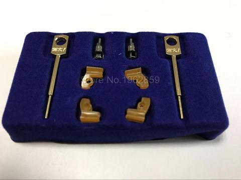 2 sets box tecnico de laboratorio dental instrumento mk1 anexos pecas para metal partials produtos