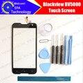 Blackview bv5000 tela de toque digitador garantia 100% original digitador da tela de toque do painel de vidro para bv5000 + ferramentas + adesivo